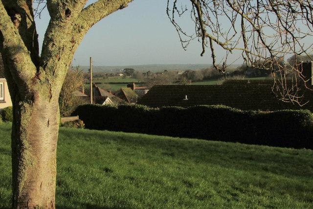 View from Whiterock Close, Wadebridge