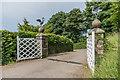 SS6040 : Gate, Arlington Court by Ian Capper