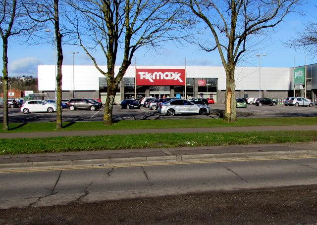 TK Maxx, Maesglas Retail Park, Newport