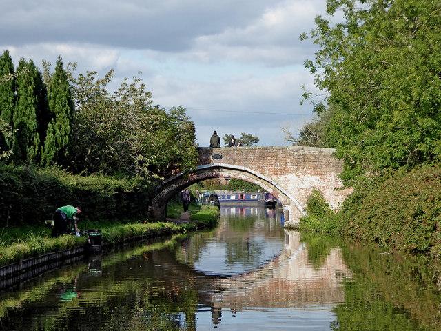 Princefield Bridge in Penkridge, Staffordshire