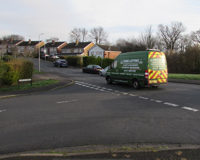 King Lifting van, Rowan Way, Malpas, Newport