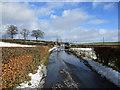 NS7347 : Thaw conditions near Knowehead by Alan O'Dowd