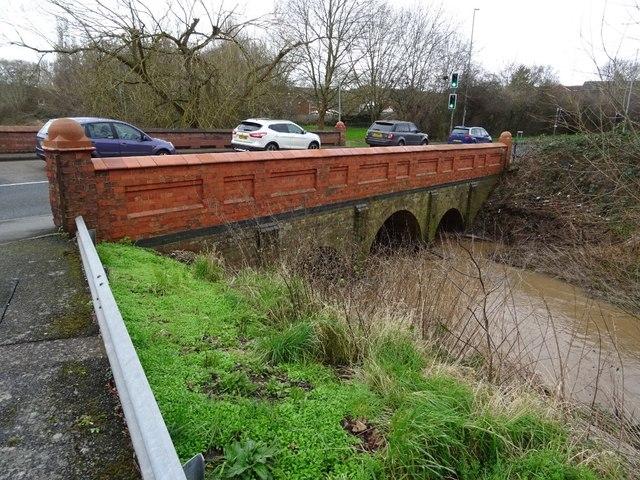 Bridge over Laugherne Brook