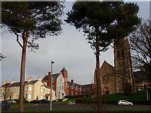 J4844 : Presbytery and convent buildings at St Patrick's Catholic Church, Downpatrick by Eric Jones