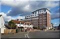 TQ3668 : Joseph Samuel Apartments by Des Blenkinsopp