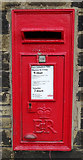 SE1735 : Elizabeth II postbox on Idle Road, Bradford by JThomas