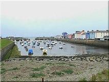SN4562 : Aberaeron Harbour by Eirian Evans