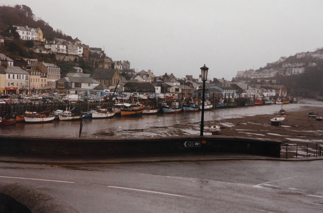 Looe River at low tide