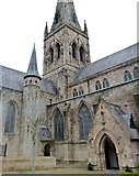 SJ8298 : Salford Cathedral by Anthony O'Neil