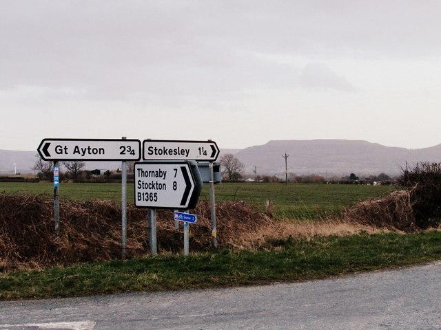 Road Junction at Tanton