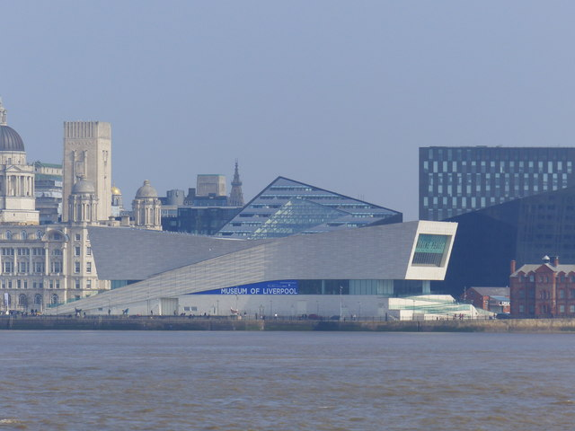 The Museum of Liverpool seen from the River Mersey