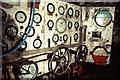 NZ5020 : Tuxedo Royale, Middlesbrough, engine room control panel by Chris Allen