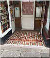 SX9472 : Tiled entrance, Queens Chambers, Wellington Street, Teignmouth by Robin Stott