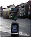 ST3089 : Newport Bus double-decker, Malpas Road, Crindau, Newport by Jaggery