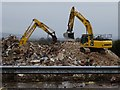 SO7844 : Demolition work on former Qinetiq site - 19 February by Philip Halling