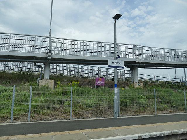 Shawfair station