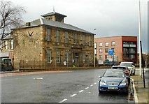 NS5565 : Former Hill's Trust School, Govan by Richard Sutcliffe