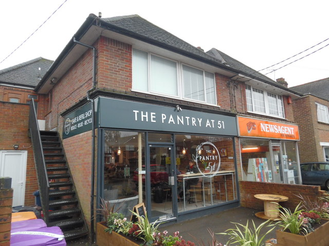 The Pantry at 51 Café & Refill Shop, Prestwood