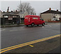 ST3287 : Red Hovis van, Corporation Road, Newport by Jaggery