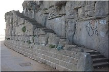 TR3965 : Steps up to Victoria Parade by Ian S