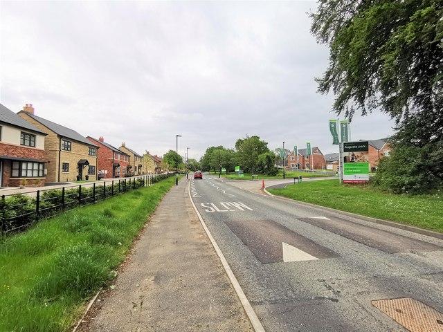 New Housing off Front Street, Dinnington