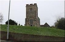 TQ6478 : St Mary's Church, Chadwell St Mary by David Howard