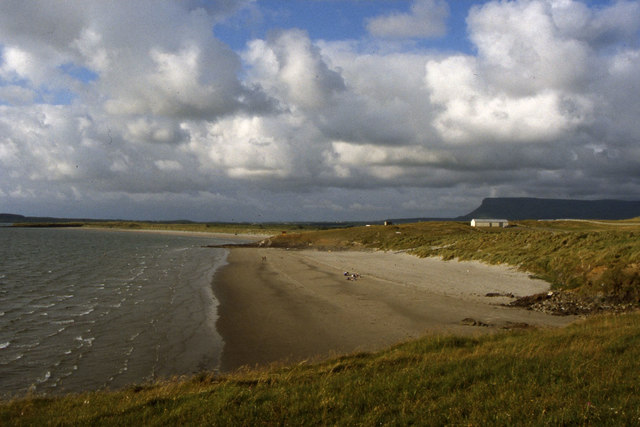 View N along beach at Rosses Point