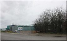 TQ6077 : Factory on Wouldham Road, Grays by David Howard