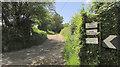 SS3208 : Footpath to West Youldon by Derek Harper