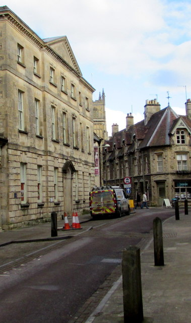 East along Park Street, Cirencester