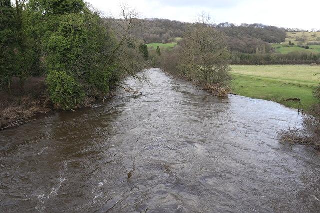 High water on the River Derwent