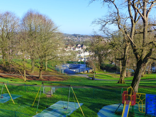 Play area and skate park, Piggy's Hill Park, Chepstow