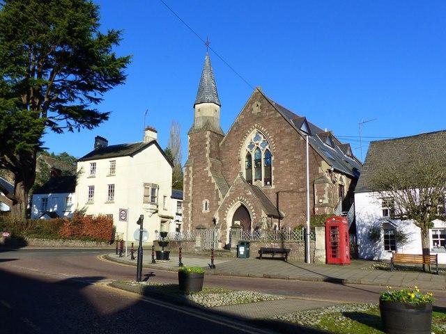 Former Congregational church, Twyn Square, Usk