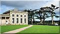 SJ5509 : Cedars of Lebanon at Attingham Park by Trevor Littlewood