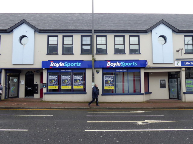 Boyle Sports, Market Street, Omagh