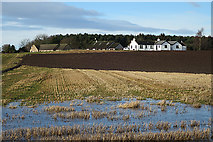 NJ1461 : No Point in Ploughing Here by Anne Burgess