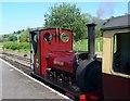 SH8830 : Maid Marian at Llanuwchlyn Station by Eirian Evans