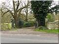 TF0008 : Gateway to The Old Rectory, Great Casterton by Alan Murray-Rust