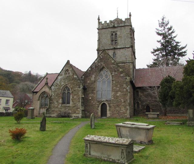 Grade I Listed Church of St Laurence, Church Stretton