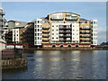 ST1974 : Apartments by Roath Basin, Cardiff by Chris Allen