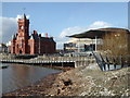 ST1974 : Waterfront Cardiff Bay by Chris Allen