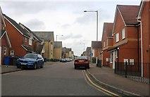 TQ5978 : Hedingham Road, Chafford Hundred by David Howard