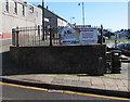 SO2508 : World Heritage Day banner, Blaenavon by Jaggery