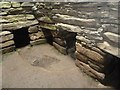 HY6737 : Quoyness Chambered Cairn - Subsidiary chambers by Rob Farrow