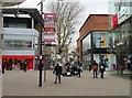 SU1484 : Regent Street in Swindon by Steve Daniels