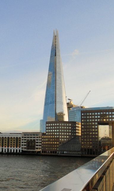 The Shard - viewed from London Bridge