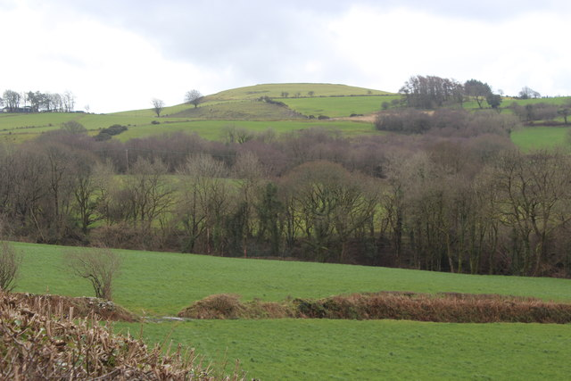 View from lay-by, A482
