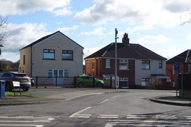 Houses on Kilroyd Drive, Cleckheaton