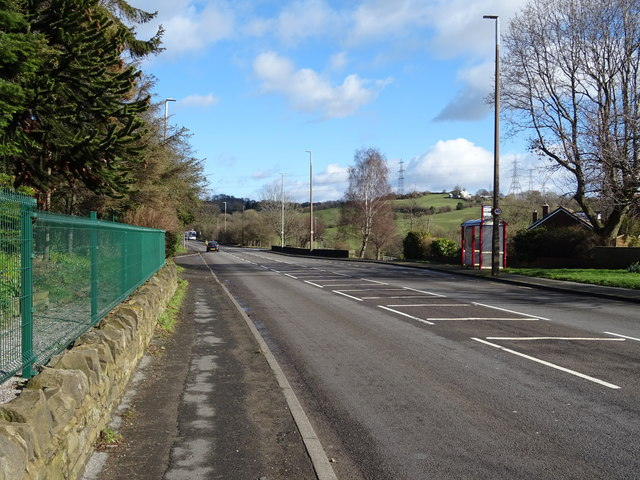 Whitehall Road West (A58), Cleckheaton