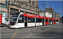 NT2574 : An Edinburgh tram by Walter Baxter